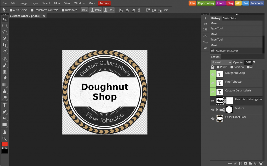 The Best Free Online Photo Editor for Making Labels