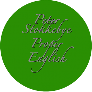 Peter Stokkebye - Proper English (No.52)