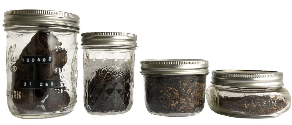 Cellaring Tobacco Jars